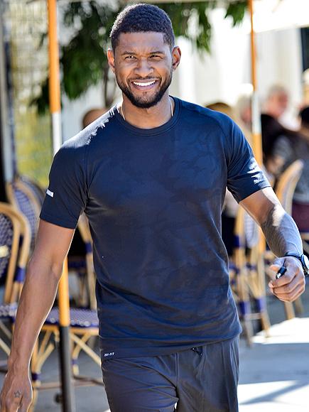 GO TIME photo | Usher