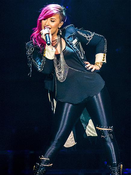 THINK PINK photo | Demi Lovato