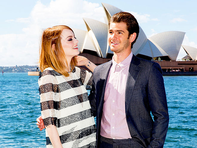 SETTING THE SCENE photo | Andrew Garfield, Emma Stone