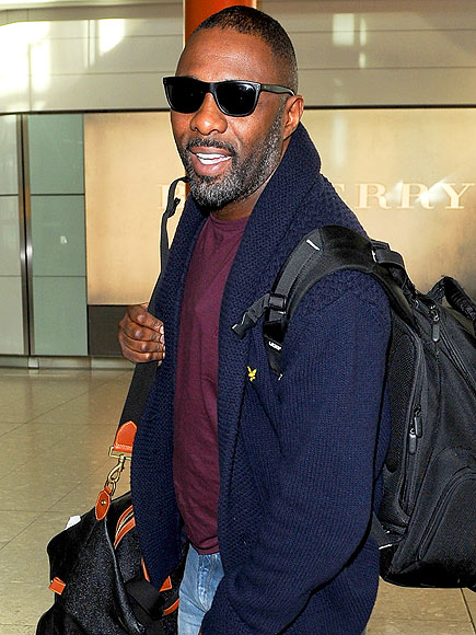 NOT SO PLANE photo | Idris Elba