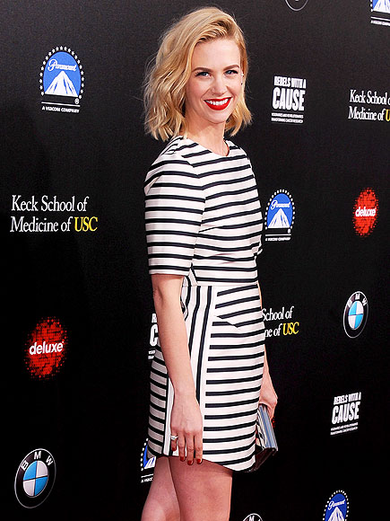 STRIPED DOWN photo | January Jones