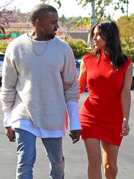 TWO STEP photo | Kanye West, Kim Kardashian