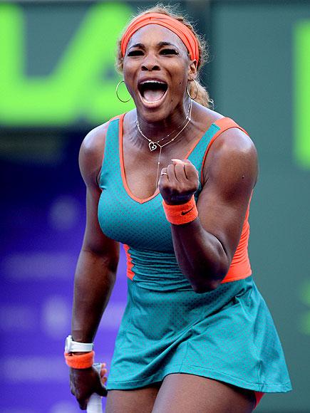 V FOR VICTORY photo | Serena Williams