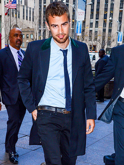 SUITED UP photo | Theo James
