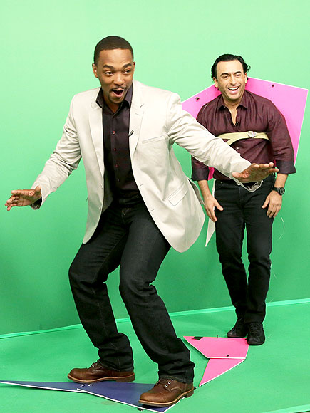 GOING GREEN photo | Anthony Mackie