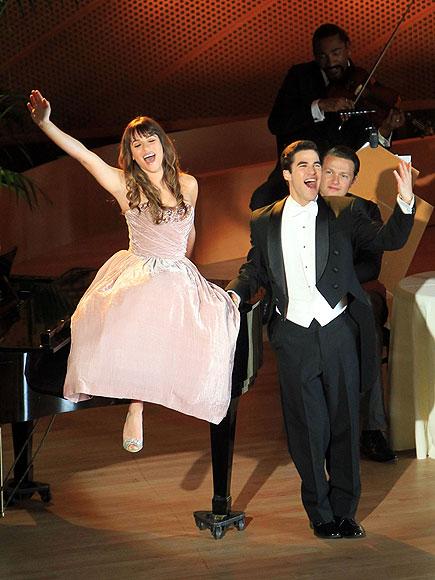 PIANO MAN (AND LADY) photo   Darren Criss, Lea Michele