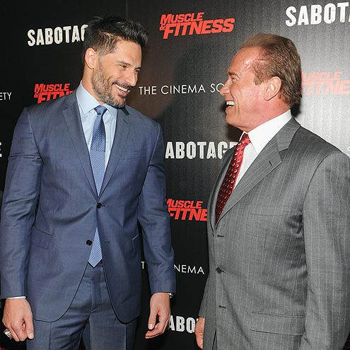 TOUGH GUYS! photo | Arnold Schwarzenegger, Joe Manganiello