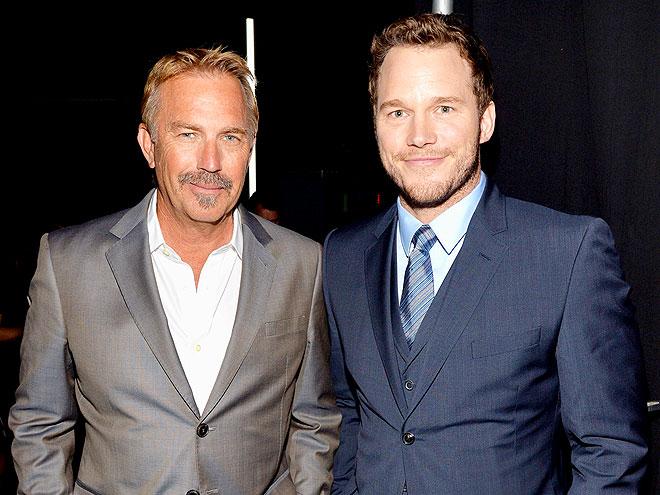 TWO GOOD MEN photo | Chris Pratt, Kevin Costner