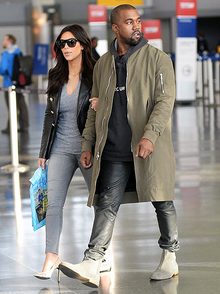 IN VOGUE photo | Kanye West, Kim Kardashian