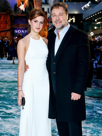 WALKING ON WATER photo | Emma Watson, Russell Crowe