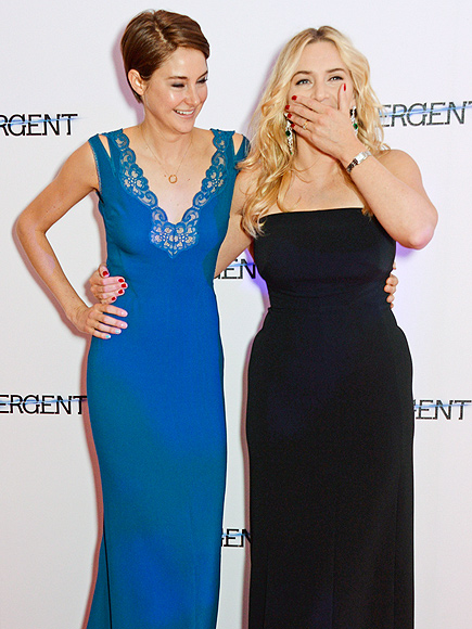 UP IN ARMS photo | Kate Winslet, Shailene Woodley