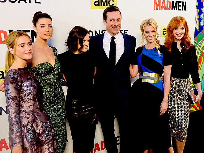 CHARACTER STUDY photo | Christina Hendricks, Elisabeth Moss, January Jones, Jessica Pare, Jon Hamm, Kiernan Shipka