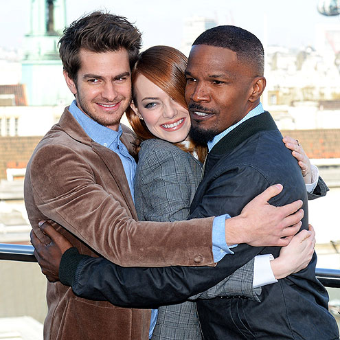 A LOTTA LOVE photo | Andrew Garfield, Emma Stone, Jamie Foxx