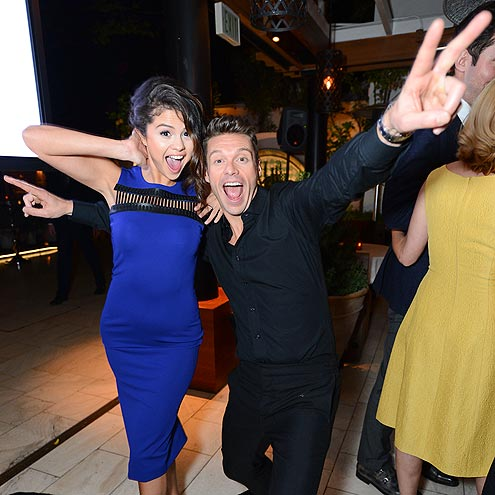 IT'S PARTY TIME! photo | Ryan Seacrest, Selena Gomez