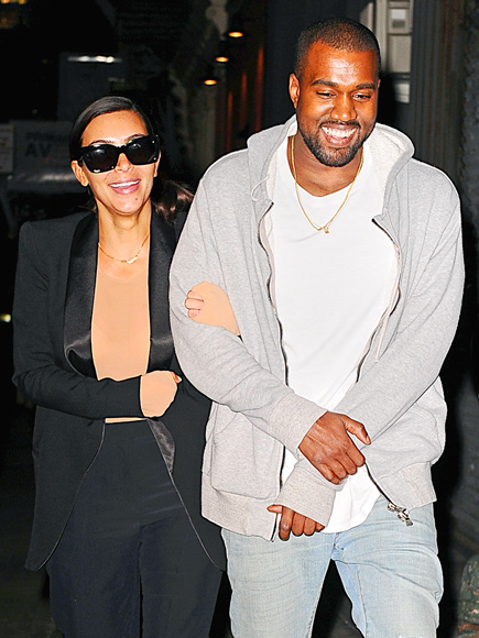 KNOT YET photo | Kanye West, Kim Kardashian