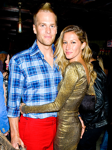 SHIMMER ON photo | Gisele Bundchen, Tom Brady