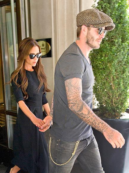 IN SYNC photo | David Beckham, Victoria Beckham
