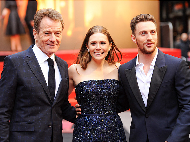 A MONSTER OF A FILM photo | Bryan Cranston, Elizabeth Olsen