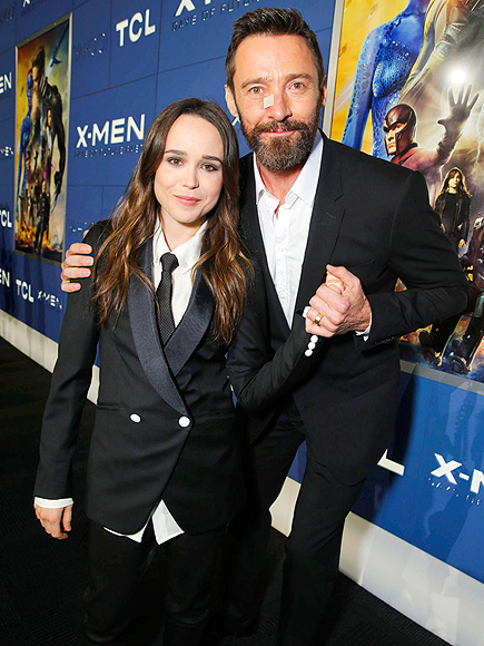 FEELING X-CELLENT! photo | Ellen Page, Hugh Jackman