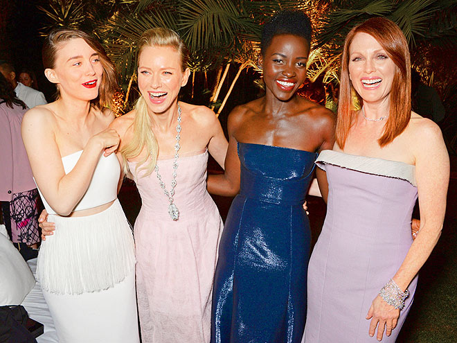 YES WE CANNES photo | Julianne Moore, Lupita Nyong'o, Naomi Watts, Rooney Mara