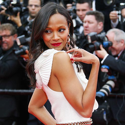 BACK ATCHA' photo | Zoe Saldana