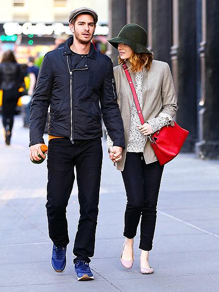 HAT TIP photo | Andrew Garfield, Emma Stone