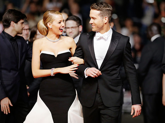 GRAND ENTRANCE  photo | Blake Lively, Ryan Reynolds