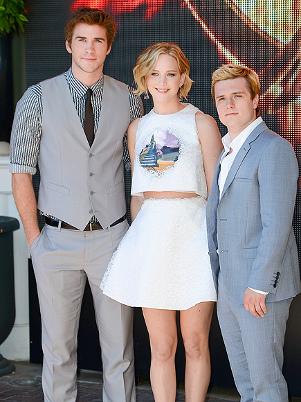 Cannes Do! photo | Jennifer Lawrence, Josh Hutcherson, Liam Hemsworth
