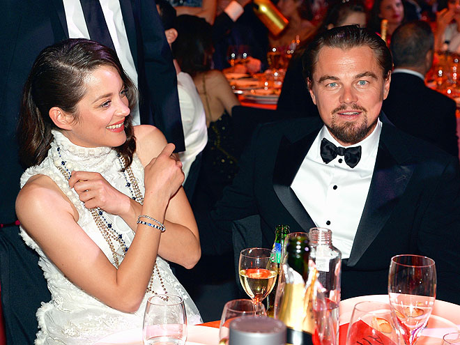 TABLE SERVICE photo | Leonardo DiCaprio, Marion Cotillard