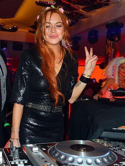SPIN STAR photo | Lindsay Lohan