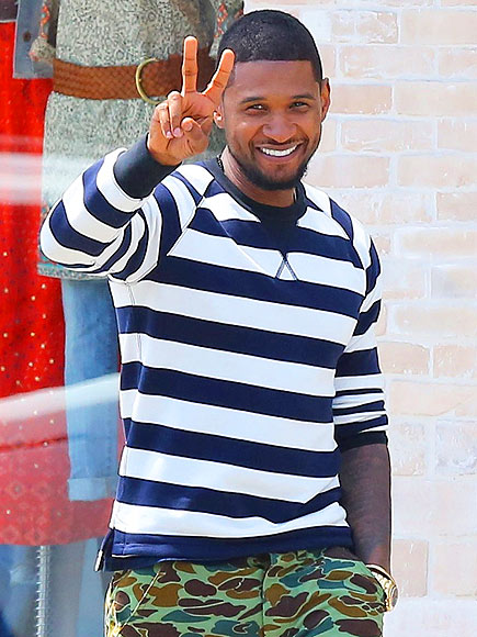 PEACE OUT photo | Usher