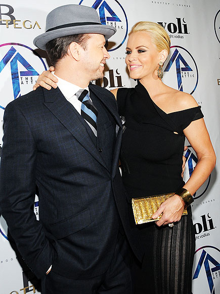 THE LOOK OF LOVE photo | Donnie Wahlberg, Jenny McCarthy