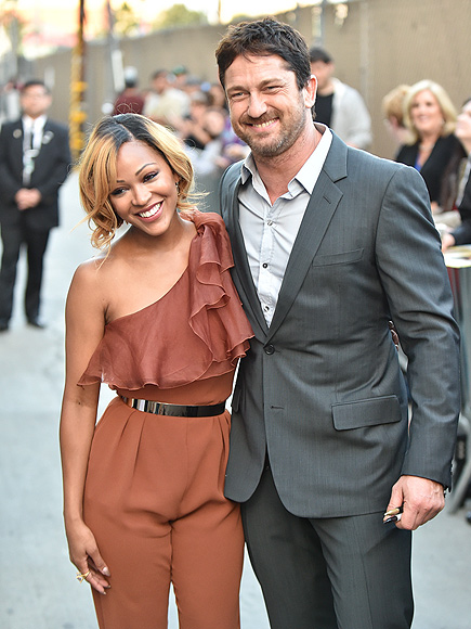 HUG IT OUT photo | Gerard Butler, Meagan Good