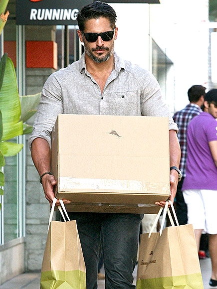 OUTSIDE THE BOX photo | Joe Manganiello