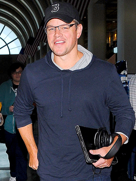 FREQUENT FLYER photo | Matt Damon