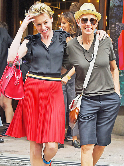 HIP TO HIP photo | Ellen DeGeneres, Portia de Rossi