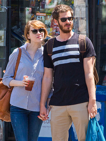TWO CUTE photo | Andrew Garfield, Emma Stone
