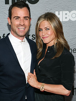 Jennifer Aniston and Justin Theroux on Their Wedding: We Have Hot Feet