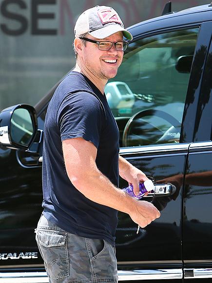 TOP THIS! photo | Matt Damon