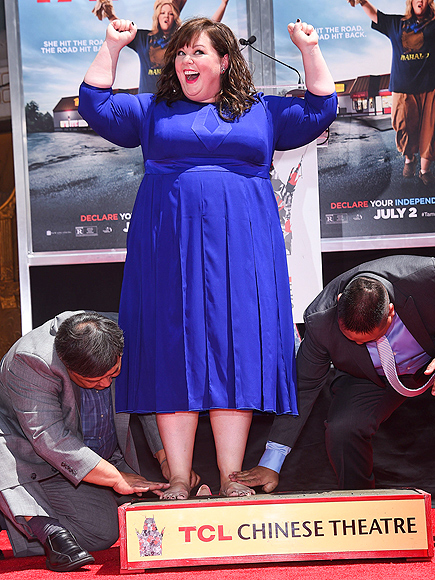 HANDS UP, BABY! photo | Melissa McCarthy