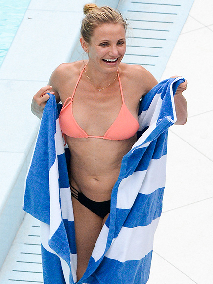 MIAMI HEAT photo | Cameron Diaz