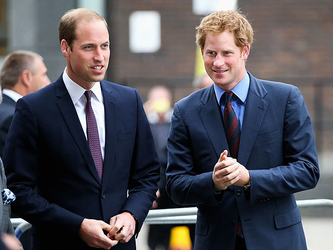 BUSINESS MEN photo | Prince Harry, Prince William
