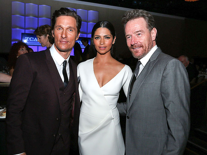 FRIENDLY COMPETITION photo | Bryan Cranston, Camila Alves, Matthew McConaughey