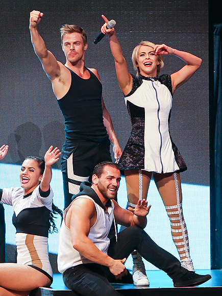 MOVING ON photo | Derek Hough, Julianne Hough