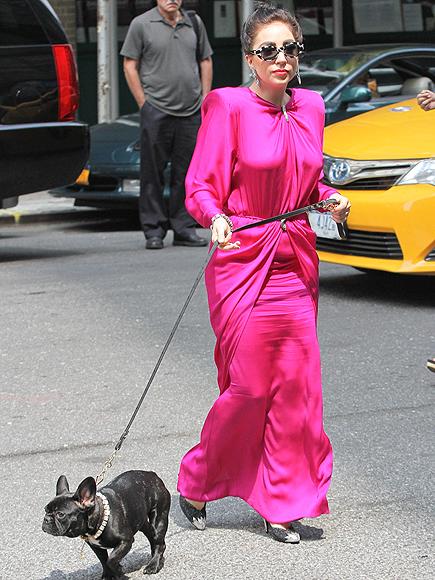 THINK PINK photo   Lady Gaga