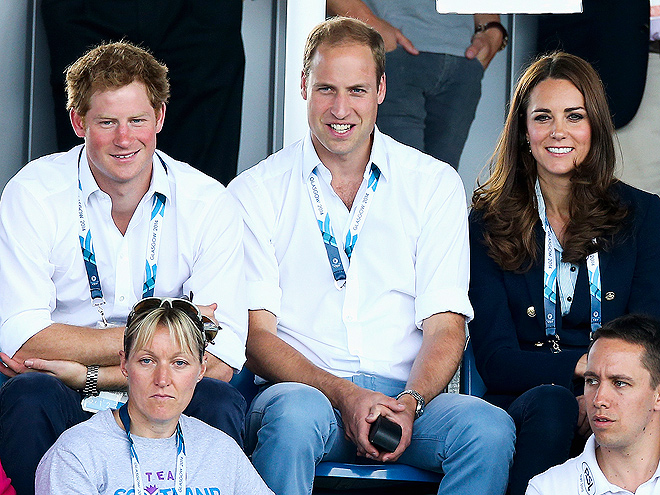 THREE'S COMPANY photo | Prince Harry, Prince William