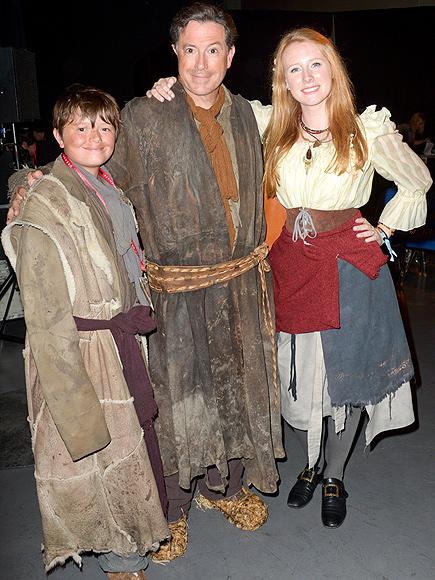 FAMILY FUN photo   Stephen Colbert