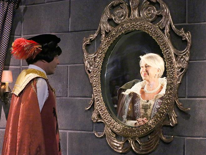 REAL REFLECTION photo | Helen Mirren