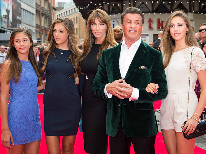 PARTY OF FIVE photo   Sylvester Stallone
