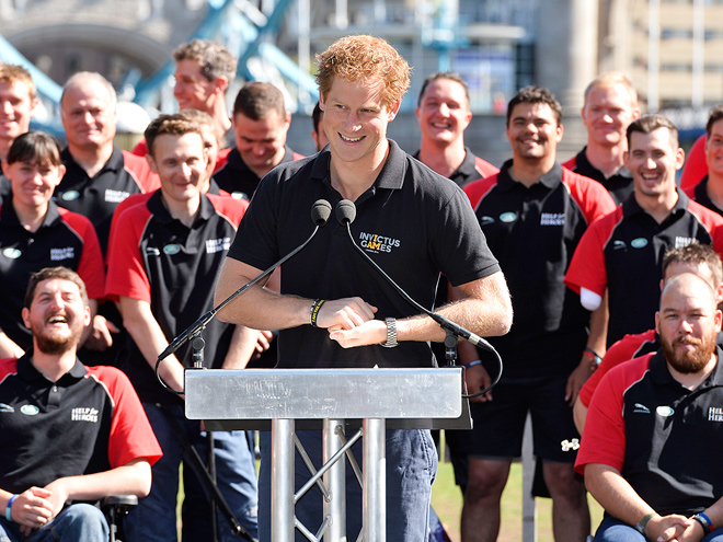 FUN AND GAMES photo | Prince Harry